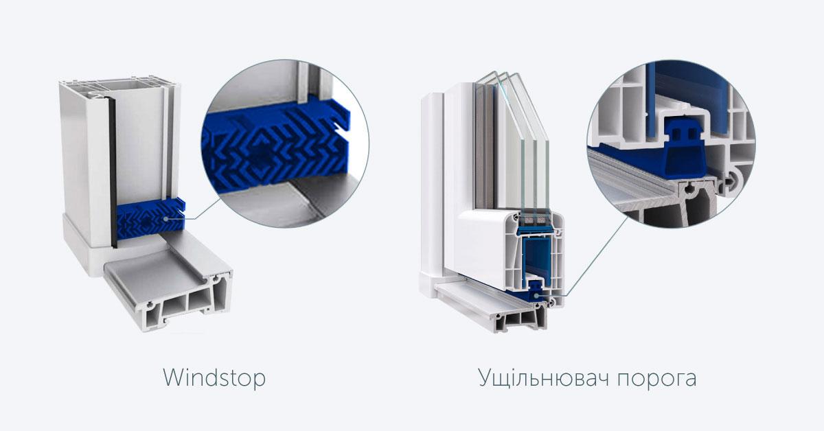 Металопластикові двері WDS: ключові переваги