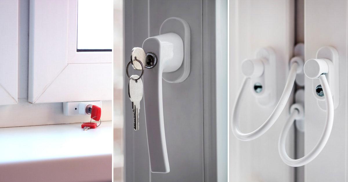 Элементы фурнитуры, которые предотвращают открытие окна без ведома родителей