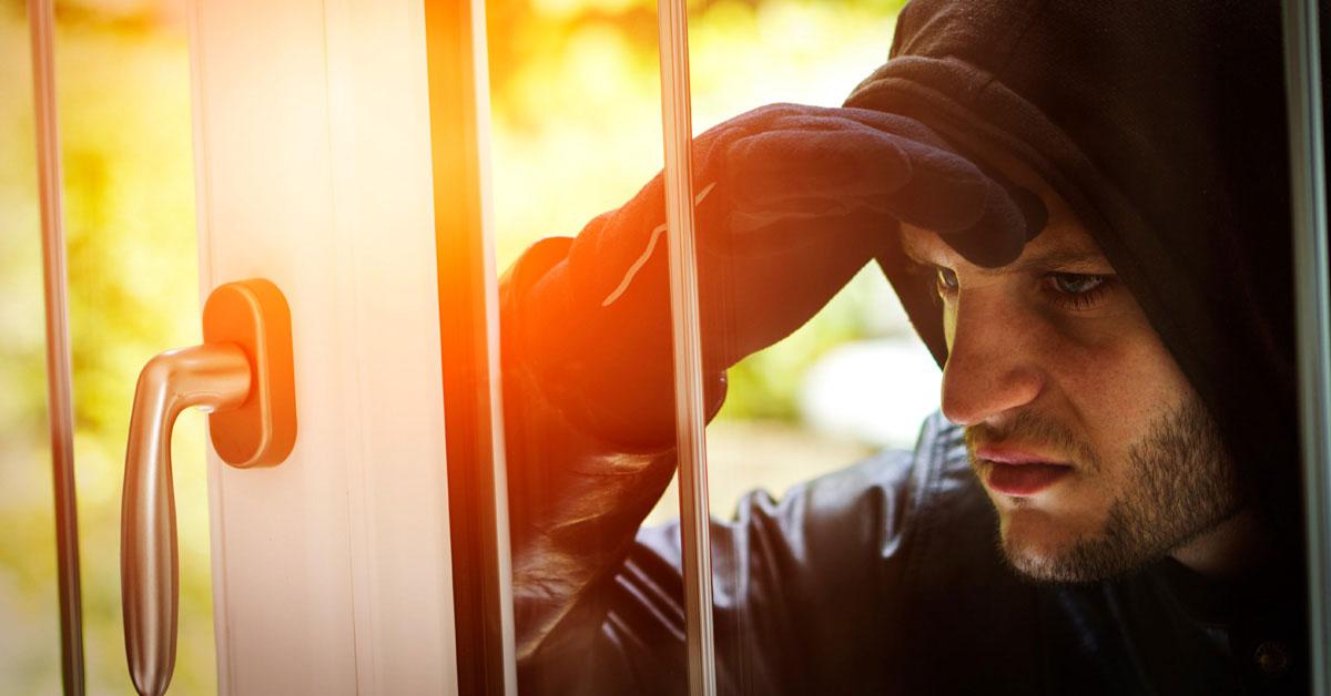 Окна с защитой от взлома