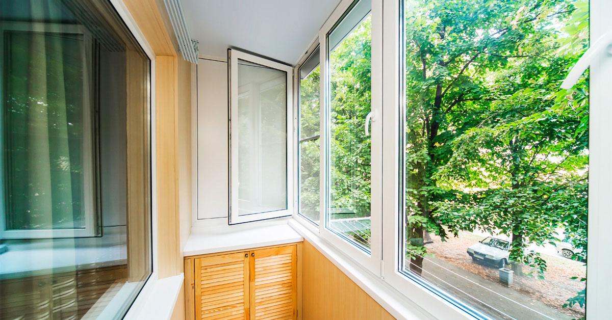 Які вікна вибрати на балкон