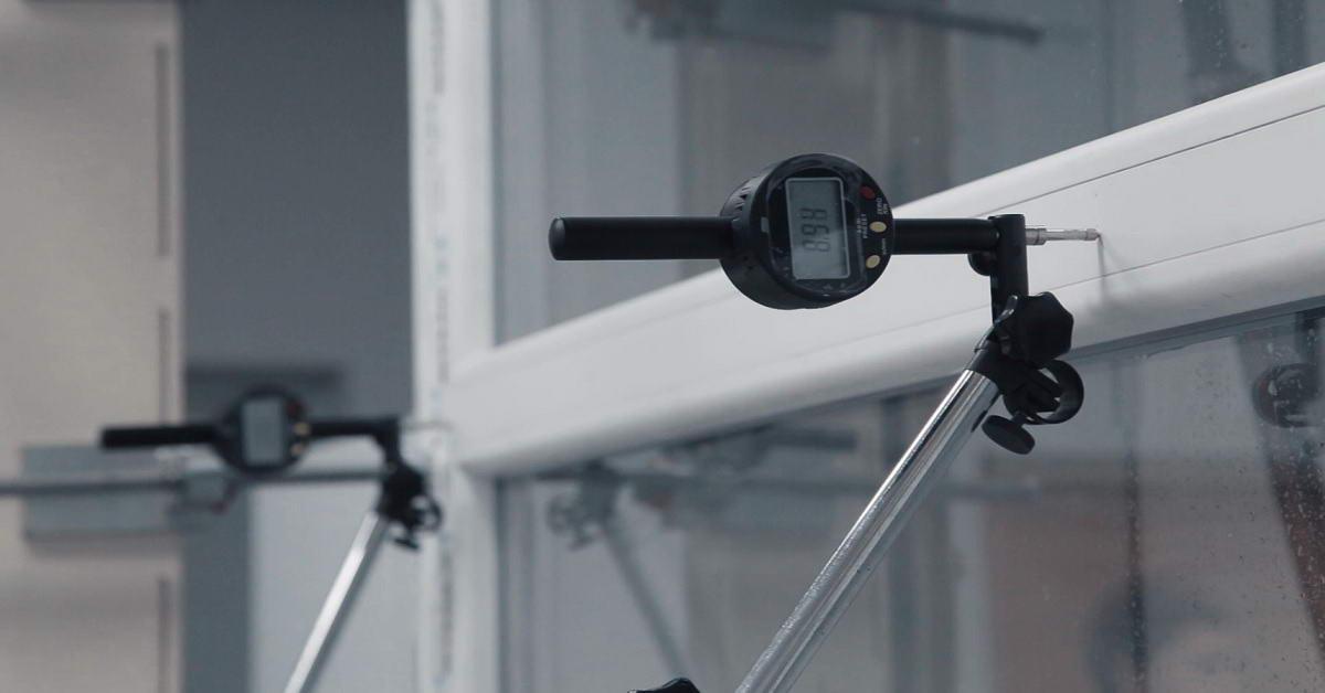 Прошли испытания окна производства компании «НИКС-М»
