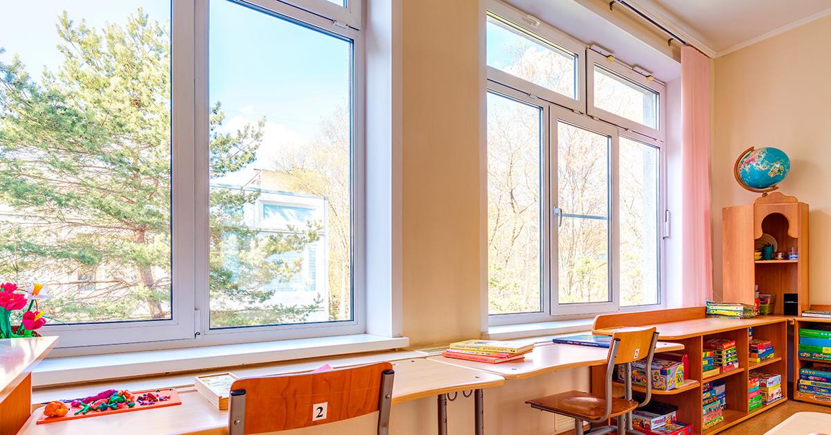 Вікна для дошкільних закладів