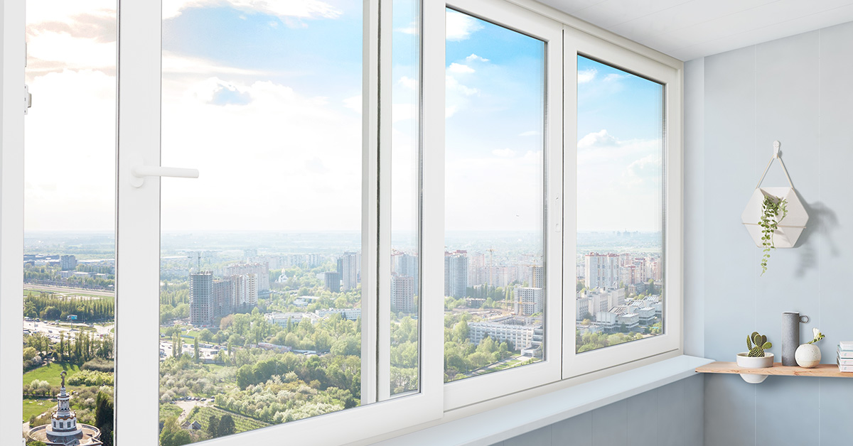 Раздвижные окна WDS SL 60 для балконов и лоджий
